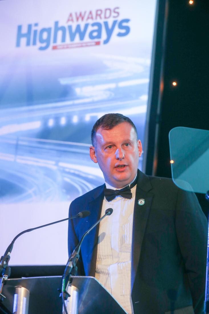 Tony Kirby highways award
