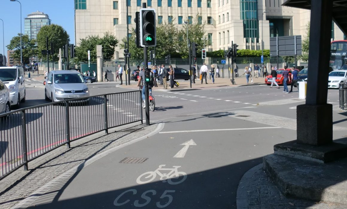Cycling in city centres